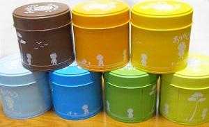 まつぼっくりちゃんのお茶缶