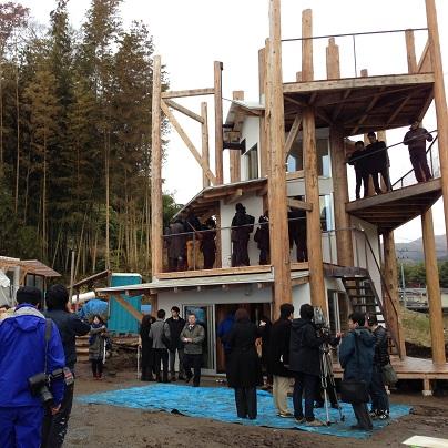 陸前高田「みんなの家」竣工式
